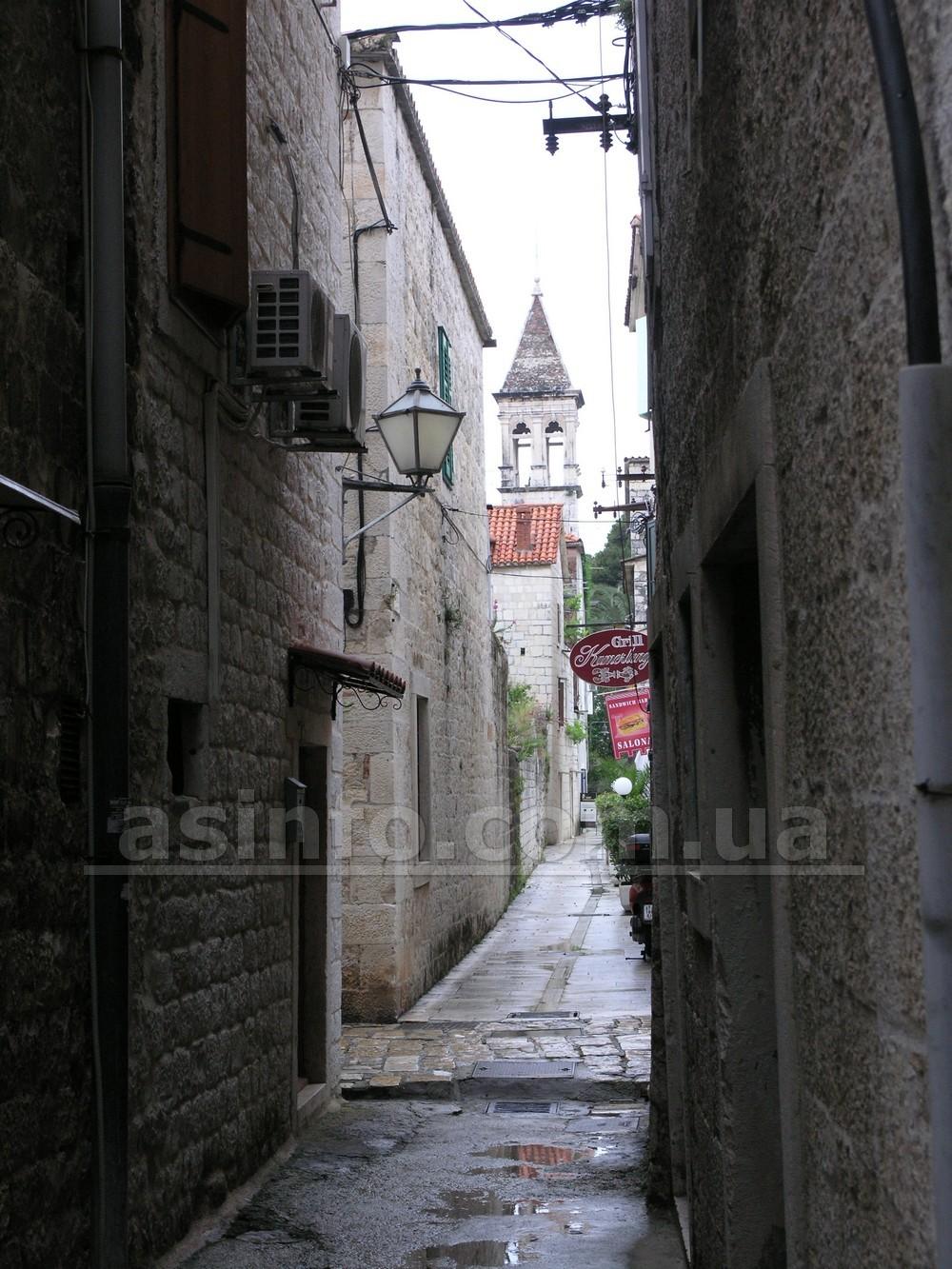 Трогир. Старый город