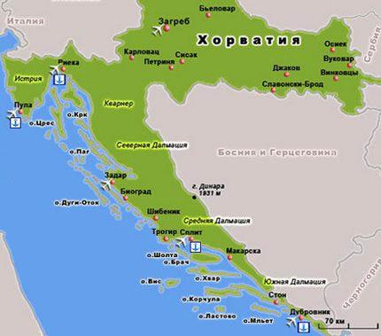 Хорватия цены 2012 авиабилеты отдых в