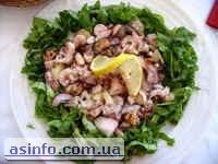 Хорватия, кухня из морепродуктов